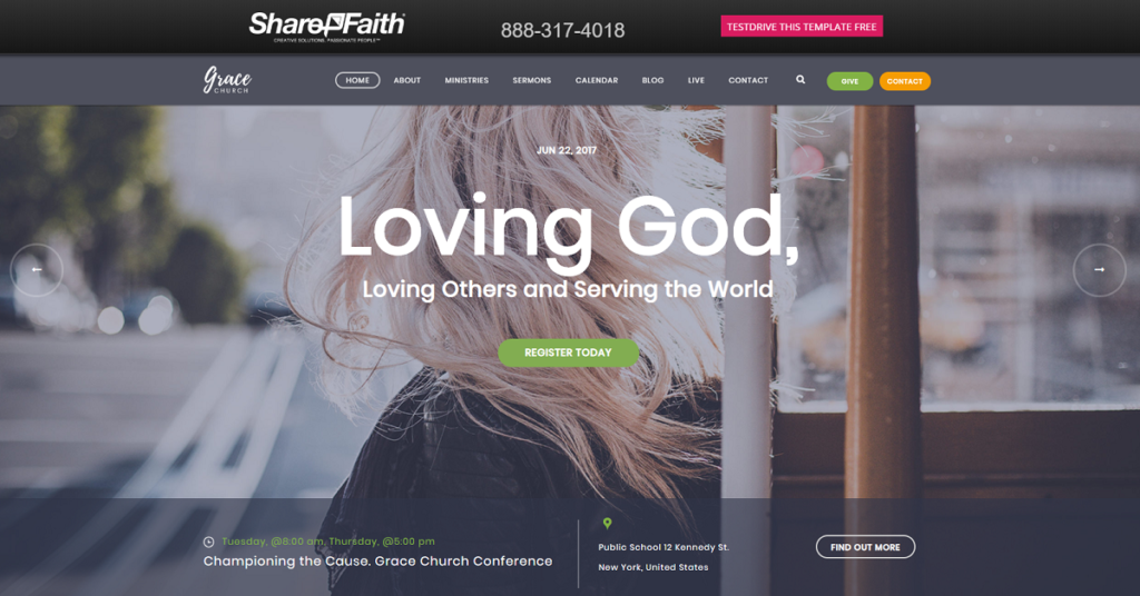 Screenshot Of ShareFaith