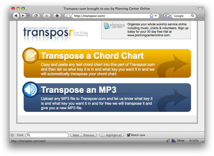 Screenshot Of Transposr