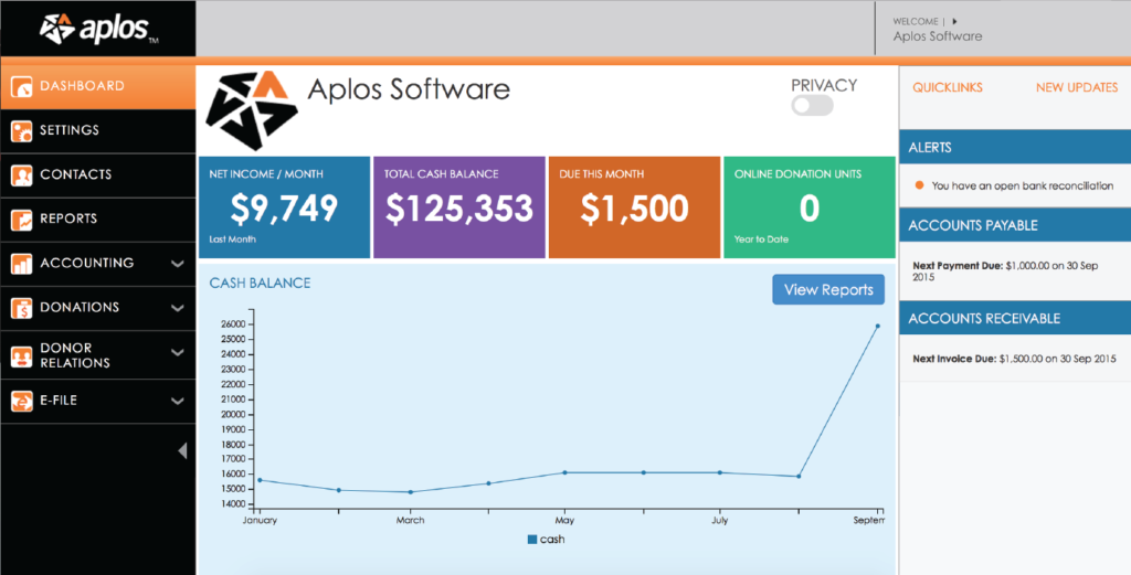 Screenshot Of Aplos