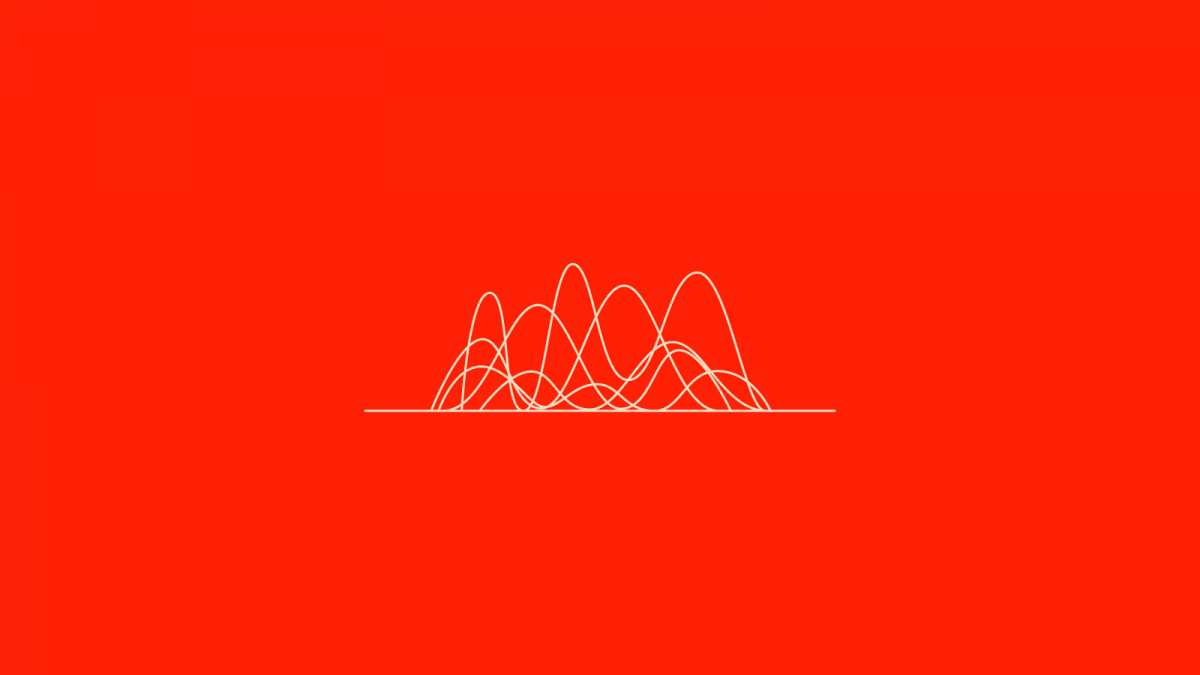 wavy lines on a red background for how to develop a church communication plan