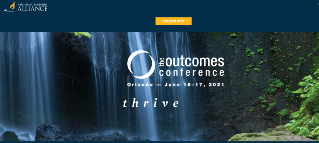 Christian Leadership Alliance Outcomes Conference Church Leadership Conferences Screenshot