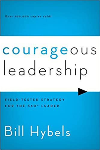Courageous Leadership Book Cover for church leadership books