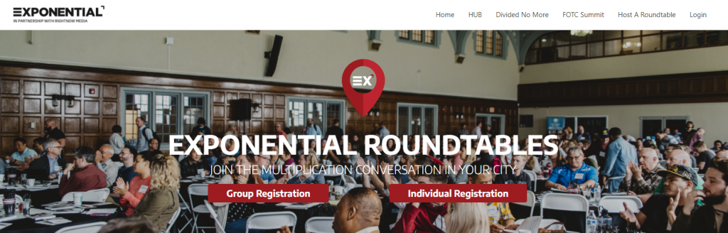 Exponential Conferences Church Leadership Conferences Screenshot