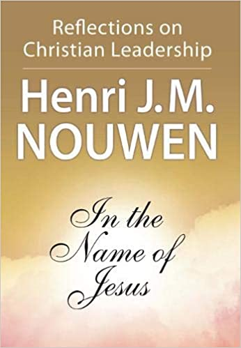 In the Name of Jesus Book Cover for church leadership books
