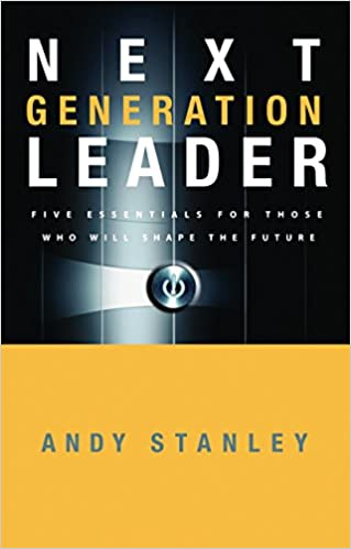 Next Generation Leader Book Cover for church leadership books
